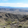 Looking down the one canyon toward the newer part of Boulder City.
