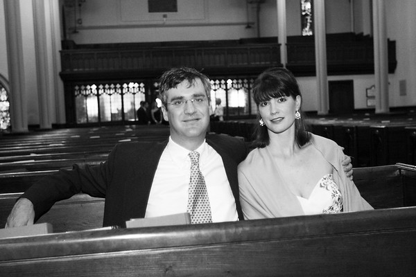 Wedding of David Hanna and Lydia Baugh at the Church of the Incarnation, NYC - June 26, 2005