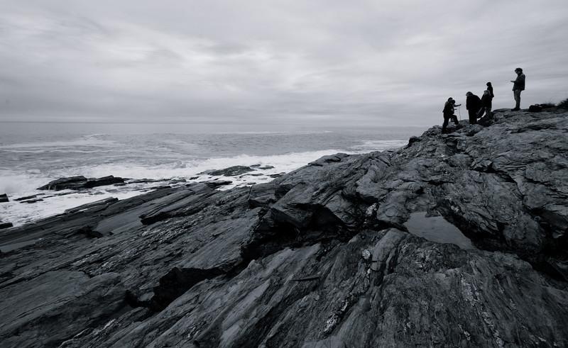 Photo Shoot, Coast of Maine