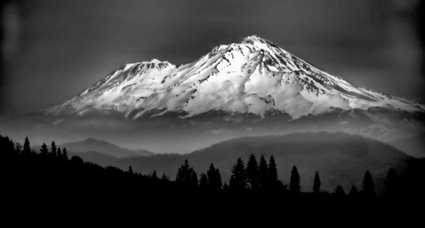 Mt. Shasta from Shasta-Chappie OHV area