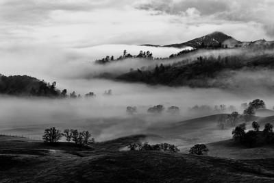 My valley foggy sunrise