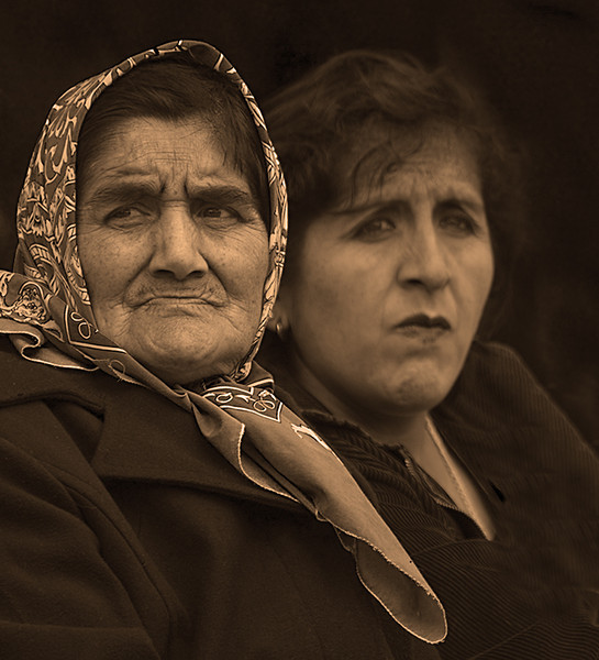 Mother and daughter, Coyhaique Chile