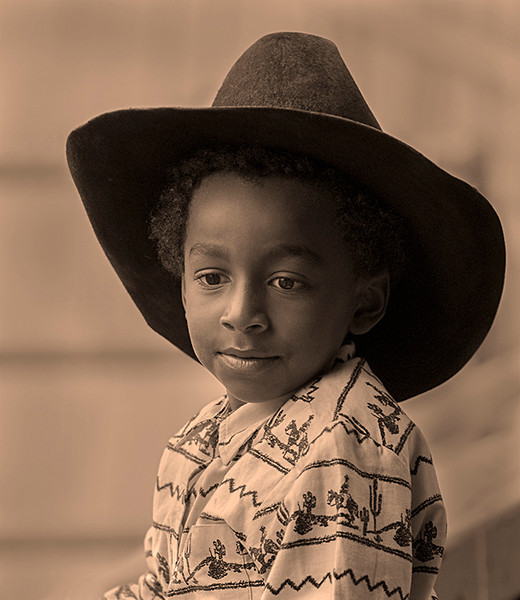 Urban Cowboy at Monterey Horse Show.