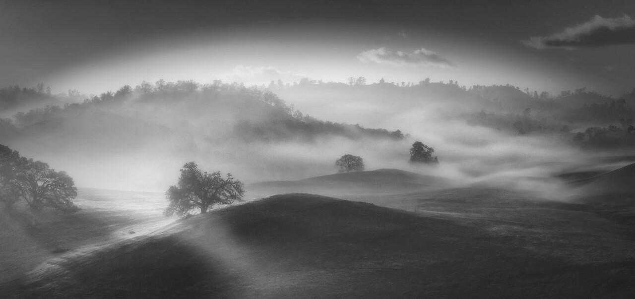 My valley foggy morning