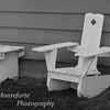 Bench and rocking chair, Bridgeport California