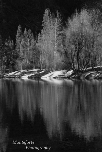 Merced River, Yosemite National Park, Ca