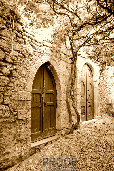 Old Streets of Rhodes (Greece)