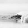 Surfer, Coal Oil Point, Gaviota Coast, Goleta