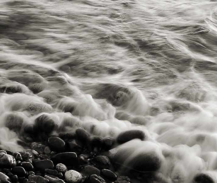 rocks and tide - long exposure motion blur<br /> Professional Nature Photography by Christina Craft of the Nature Stock Photography Library