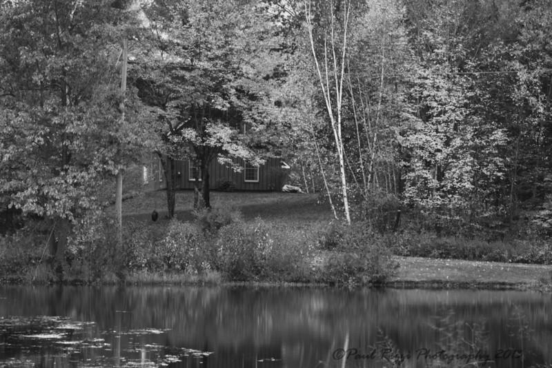 berkshire cottage b&w