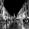 Main street at night, Dubrovnik, Croatia, 2008
