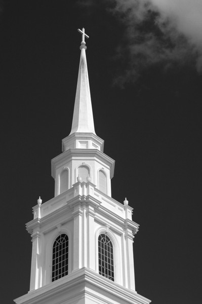Steeple in the sky