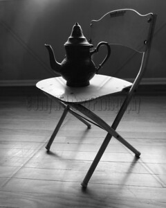 Tea Pot on Little Chair