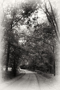View of the Kokosing Gap Trail in Mount Vernon, Ohio during Labor Day 2011.