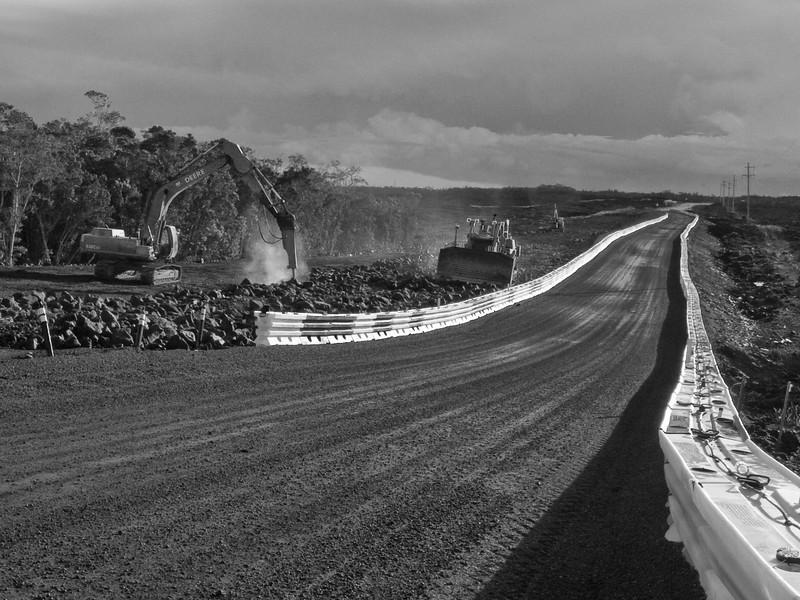 Detour<br /> Saddle Road