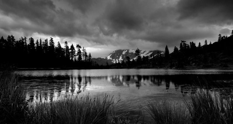 Shuksan Morning Reflection<br /> Mt. Baker