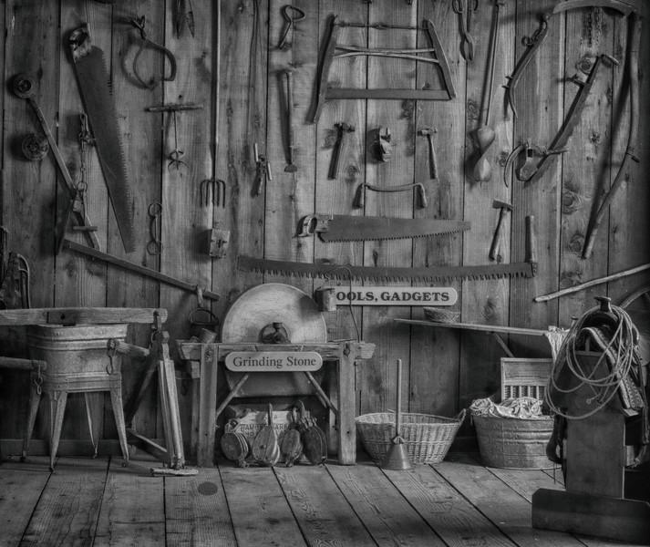 Tools and Gadgets at Borges Ranch