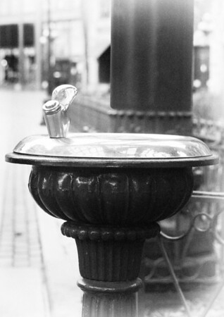 Seattle Pioneer Square fountain