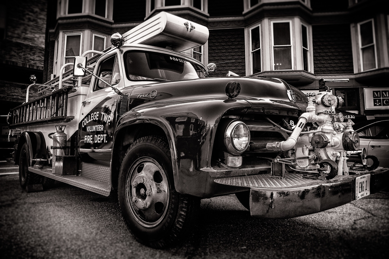Photographed during the Dan Emmett Festival car show on August 16, 2015.