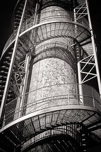 Rastin Observation Tower in Ariel-Foundation Park in Mount Vernon, Ohio. Photo by Joe Frazee.