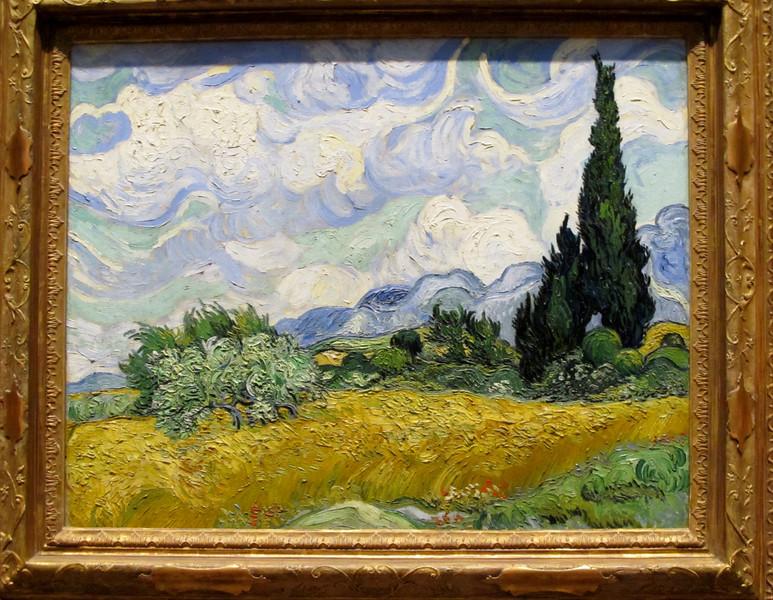 Van Gogh at the MET, New York City July 2012 Copyright Sue Steinbrook