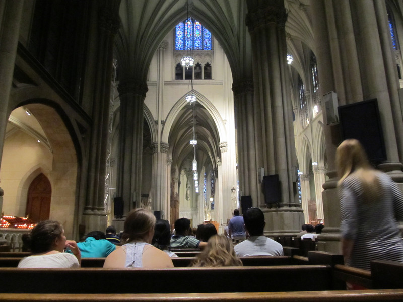 St Patricks Cathedral, NYC July 2012 Copyright Sue Steinbrook