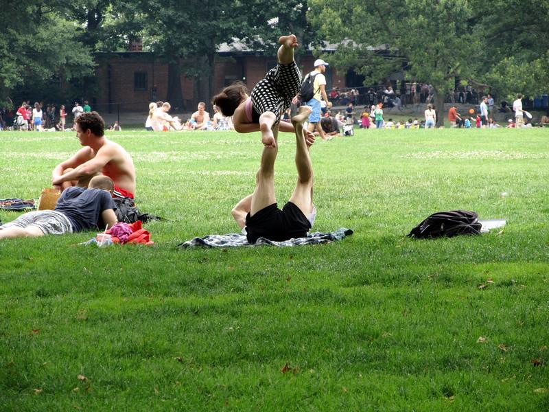 Central Park NYC July 2012 Copyright Sue Steinbrook