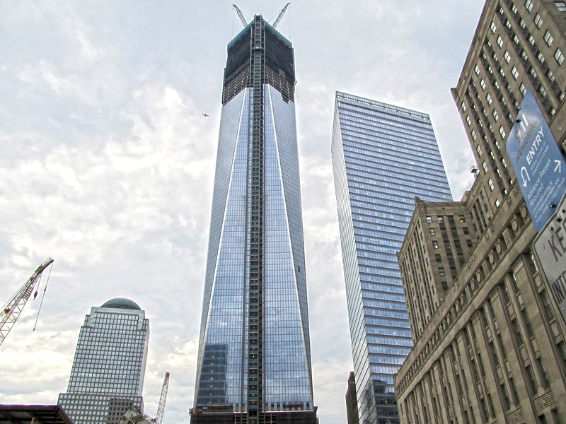 Freedom Tower, July 2012 Copyright Sue Steinbrook