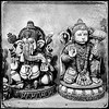 Ganesha and Hanuman