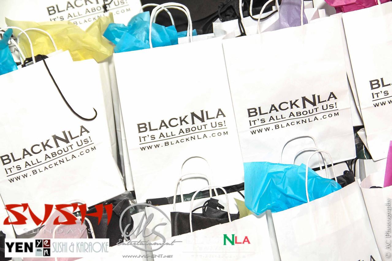 BlackNLA Gift Bags