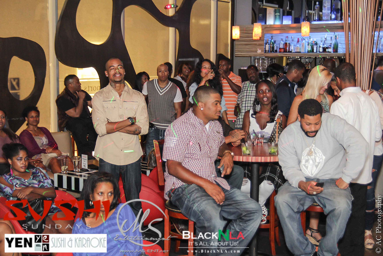 BlackNLA Karaoke Night