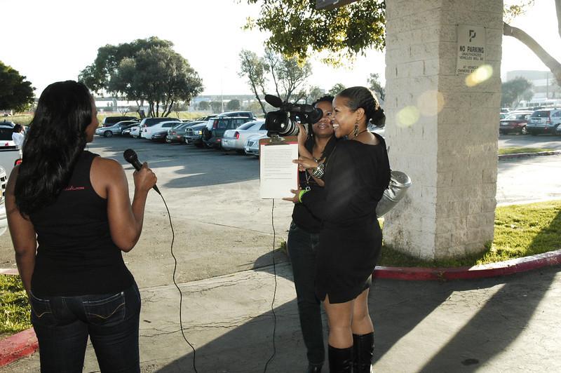 BlackNLA video team at annual superbowl event