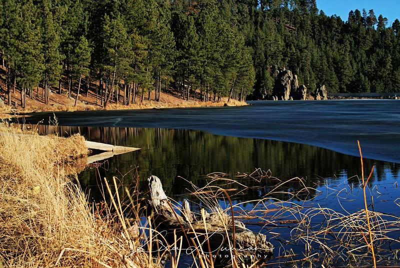 Center Lake<br /> February 2012