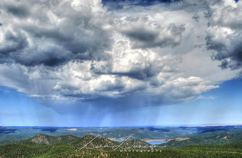 Pactola Raincloud<br /> September 2012