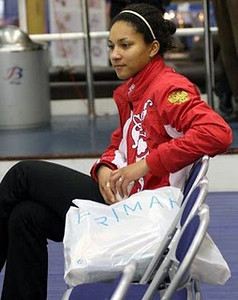 Nkeiruka Ezekh, Curling, Russia<br /> Moscow, western Russia<br /> <br /> This is Ms. Ezekh's second Olympics, The 26-year-old athlete was also part of the Russian team that won the 2006 European curling title.<br /> <br /> Interesting tidbits: She has a Nigerian father and a Russian mother. Ms. Ezekh has an engineering degree from the Moscow Aviation Institute.