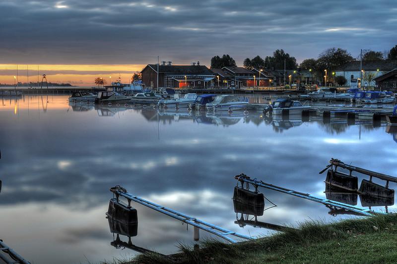 Port in Åmål, Sweden
