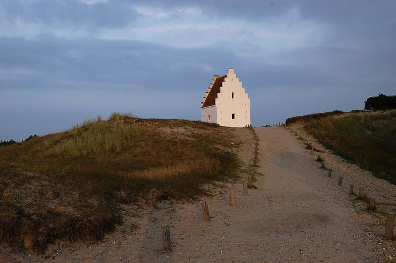 Church in sand