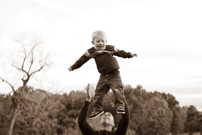 So fun and such confidence that Daddy is there to catch him.