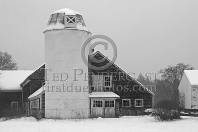 Carlisle,MA Rt225 Barn - Jan 8, 2005