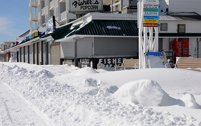 It's gotta be pretty extreme for Fisher's to be closed on a weekend.