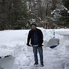 Still more shoveling 2 days after the blizzard!