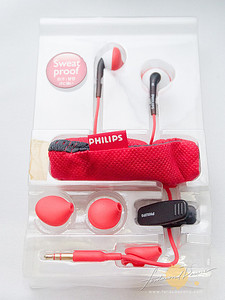 Philips ActionFit in-ear headphones Acme Made Slick Sleeve