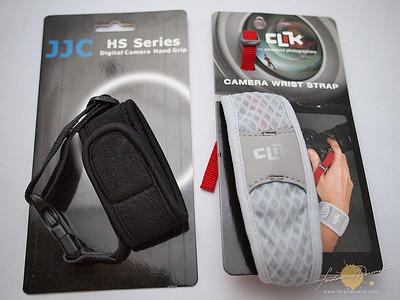 Clik and JJC Wrist Strap