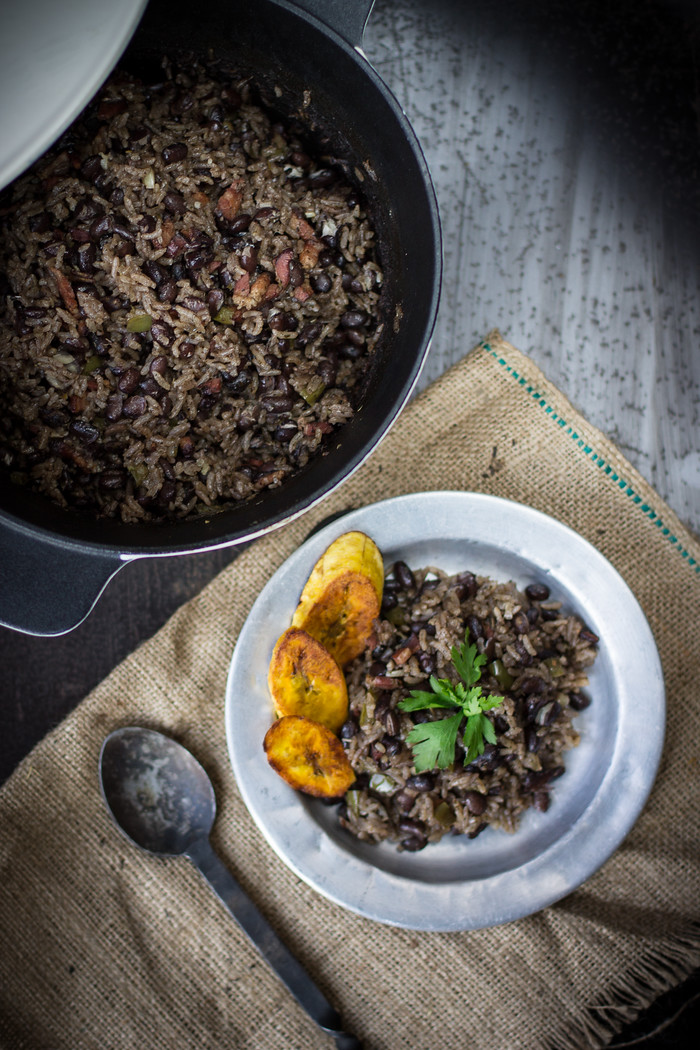 Cuban Rice and Black Beans (Moros Y Cristianos) just one of 30 Cuban food dishes you must try, discover the other 29.