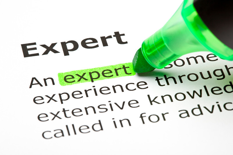 'Expert' highlighted in green