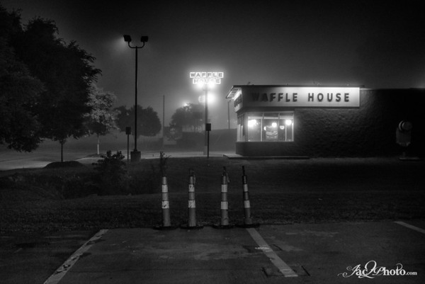 Night Time Mist in Irmo, SC