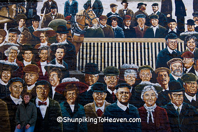 Market Square Mural, Stevens Point, Wisconsin