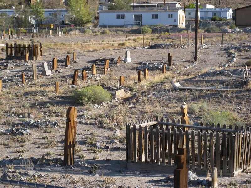 Old cemetary in Tonopah, Nevada