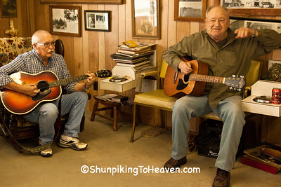 Jammin' at the Barbershop, Markleville, Indiana