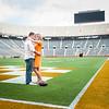 Knoxville Neyland Stadium Engagement Photographer